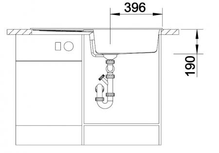 Chiuveta de bucatarie BLANCO METRA XL 6 S [4]