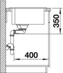 Chiuveta de bucatarie BLANCO PLEON 9, InFino fara accesorii si fara excentric [2]