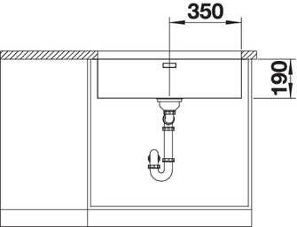 Chiuveta de bucatarie inox BLANCO ANDANO 700-U5