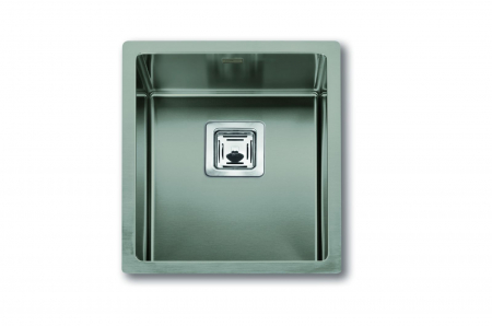 Chiuveta de bucatarie inox PVD ArtInox Titanium 34 culoare antracit [0]
