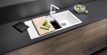 Chiuveta granit bucatarie Blanco COLLECTIS 6 S cu cos de sortare plastic cu capac [1]