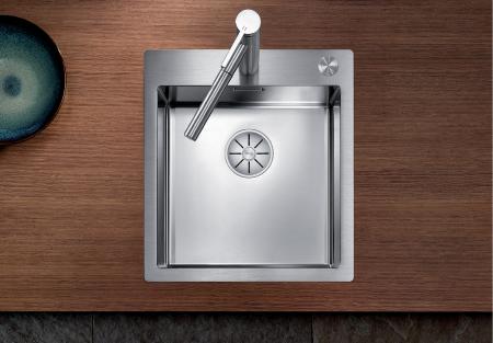 Chiuveta inox Blanco Claron 400-IF/A cu sistem pushcontrol [0]