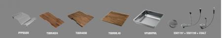 Chiuveta inox bucatarie ArtInox Layer BRSPS 86 montaj pe blat [8]