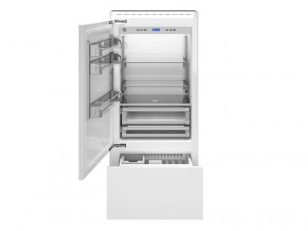 Combina frigorifica  incorporabila Bertazzoni,90 cm design Neutral, seria Profesional0