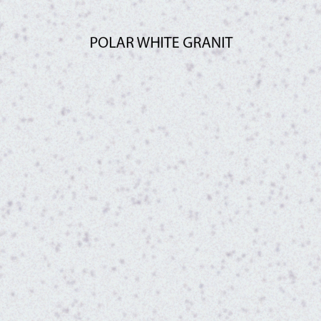 CookingAid Chiuveta bucatarie granit Cube ON5610 Alba / Polar White cu montaj sub blat + accesorii instalare [5]