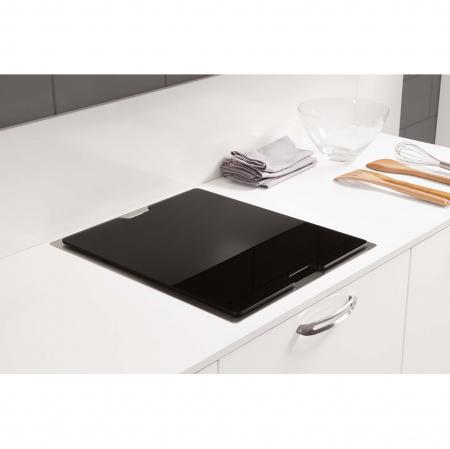 CookingAid Chiuveta bucatarie inox INVISIBLE 40R cu capac scurgere invizibil + accesorii montaj [6]