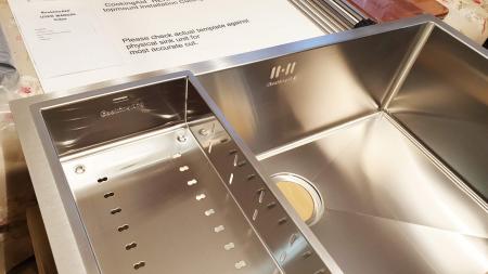 CookingAid Set complet chiuveta bucatarie inox  HERA LARGE + baterie Line MN 1011 [8]
