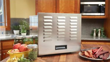 Deshidrator inox,profesional,fructe si legume Deca+ 1000 W, 10 tavi [1]