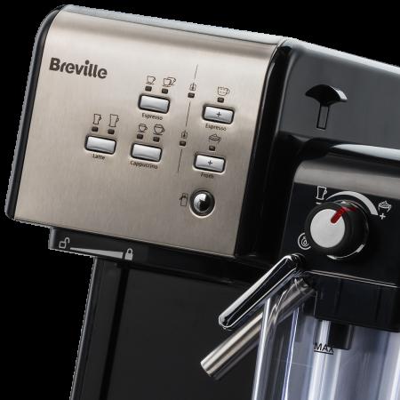 Espressor Manual cu Lapte Prima Latte II Silver Breville18
