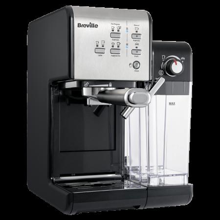 Espressor Manual cu Lapte Prima Latte II Silver Breville2