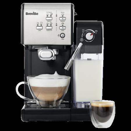 Espressor Manual cu Lapte Prima Latte II Silver Breville1