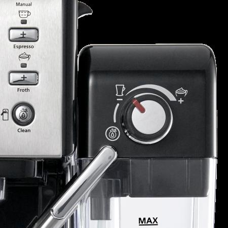 Espressor Manual cu Lapte Prima Latte II Silver Breville5