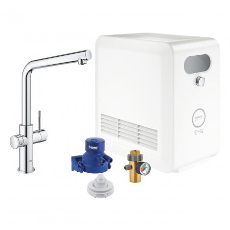 GROHE Blue Profesional kit office pentru filtrare, racire si apa carbogazoasa [0]