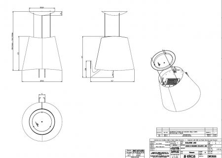 Hota de bucatarie tip insula Turboair GIOIA 50 x 50 cm [1]