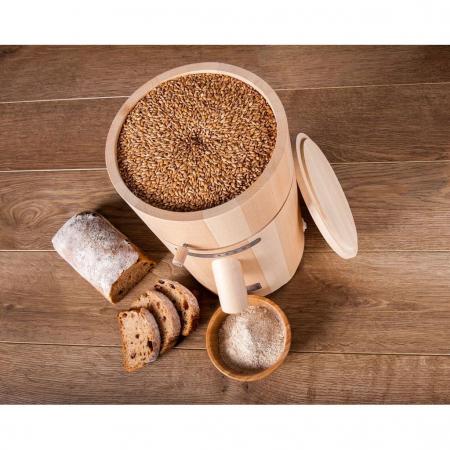 Moara de cereale Milla Home uz rezidential,motor 370w capacitate 500 gr