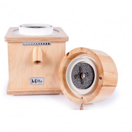 Moara de cereale Milla PRO uz rezidential sau comercial,motor 370w capacitate 900 gr [4]