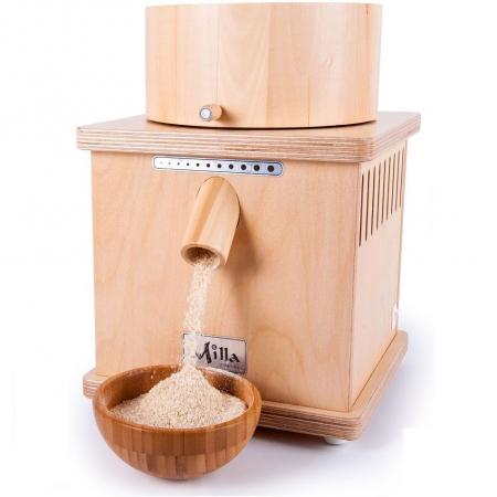 Moara de cereale Milla PRO uz rezidential sau comercial,motor 370w capacitate 900 gr [3]