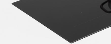 Plită cu inducție Bertazzoni,90 cm, 6 zone de gatit, sticla ceramica-neagra2