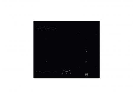 Plita pe inductie Bertazzoni 60 cm din sticla neagra0