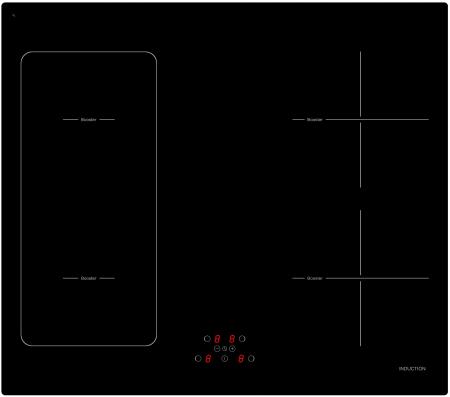 Plita vitro-ceramica pe inductie Evido Vitro 60B, 4 zone de gatit
