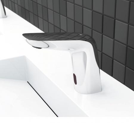 Rubineta Baterie lavoar cu senzor, regulator de temperatura si alimentare retea [1]