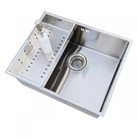 Scurgator INOX Tip Tavita Perforata pentru chiuveta 420*200*85mm sau 400*200*85mm [1]