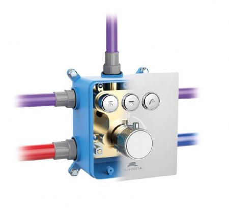 Sistem de dus incastrat Rubineta Thermo 3F OLO cu baterie termostatica [1]