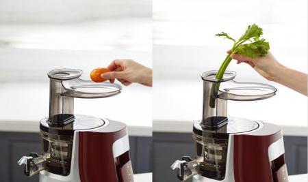 Storcator fructe si legume cu presare la rece Hurom HA-E Giugiaro4