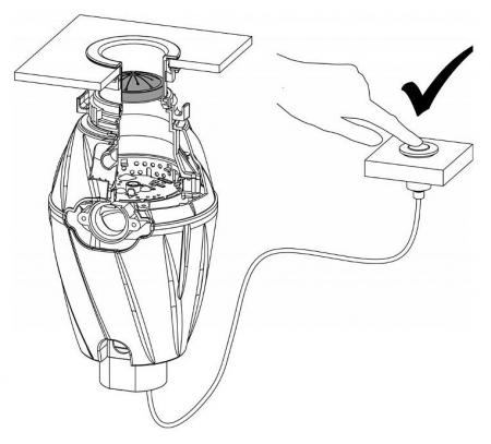Tocator de resturi menajere cu actionare pneumatica 1 CP [1]