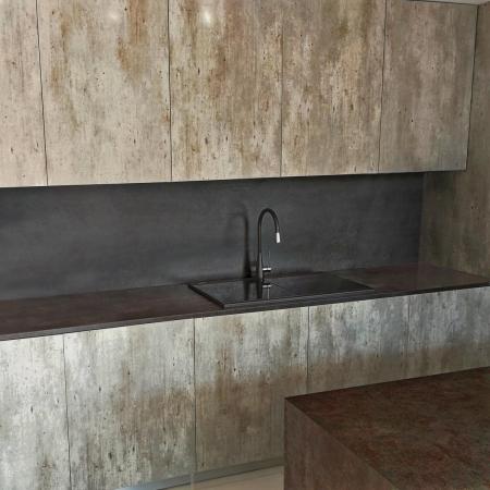 Tocator sticla Temperizata Neagra pentru chiuveta CookingAid Kinga LX8620 Black [1]