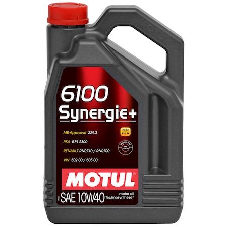ULEI MOTOR MOTUL 6100 SYNERGIE+ 10W40 4L 0
