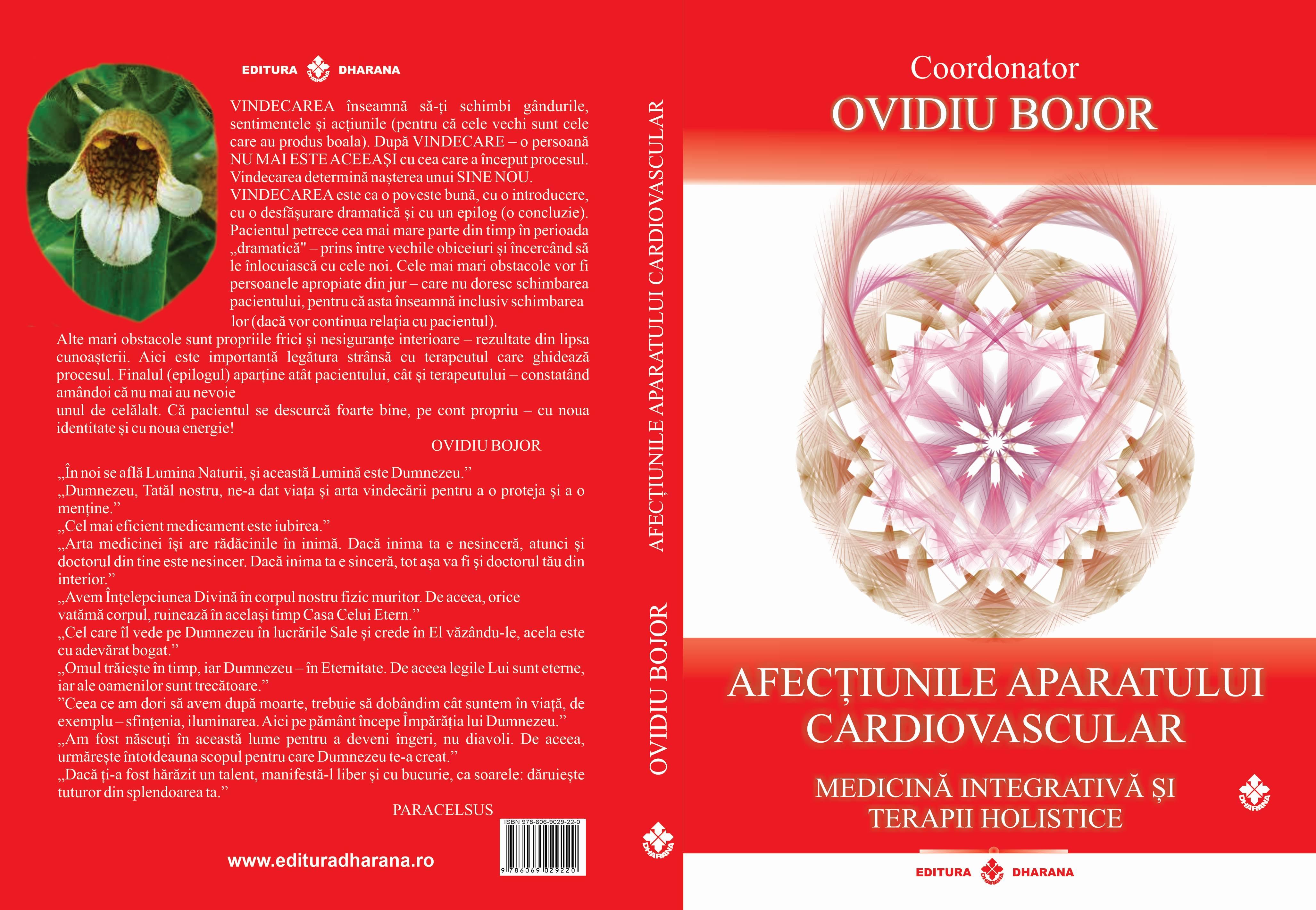 Afecțiunile aparatului cardiovascular. Medicină Integrativă și Terapii Holistice - Coordonator Ovidiu Bojor