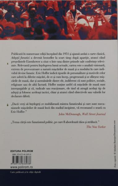 Adeptii fanatici - Eric Hoffer [1]