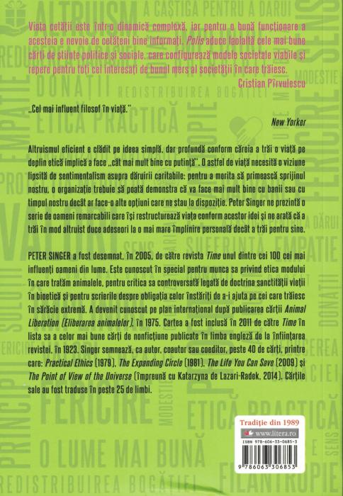 Altruismul eficient - Peter Singer [1]