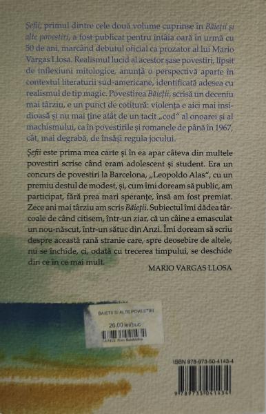 Baietii si alte povestiri - Mario Vargas Llosa [1]