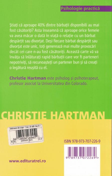 Barbatul divortat. Cum sa aflii daca e bun pentru tine - Christie Hartman [1]