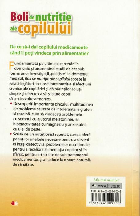 Boli de nutritie ale copilului - Dr. Kelly Dorfman [1]