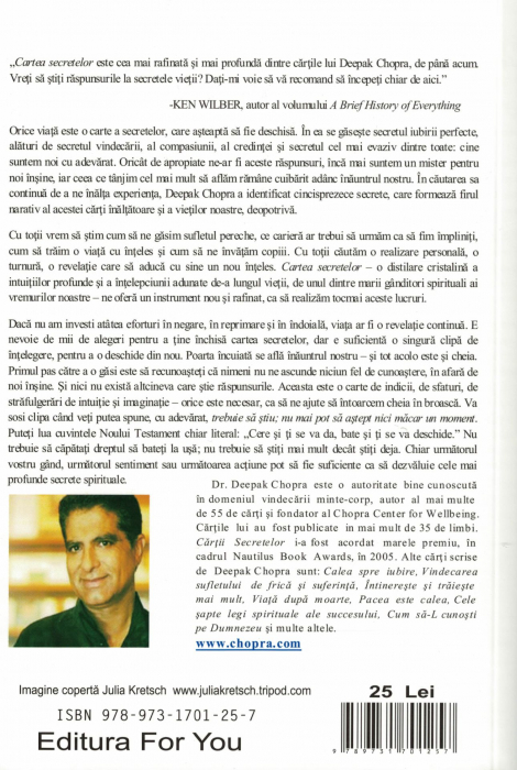 Cartea secretelor - Dr. Deepak Chopra [1]