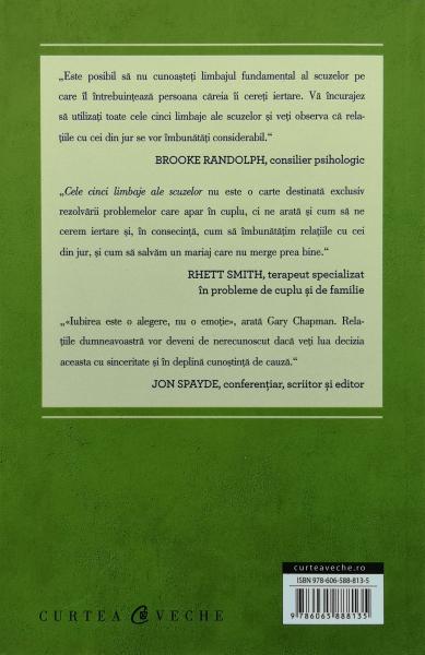 Cele cinci limbaje ale scuzelor - Gary Chapman [1]