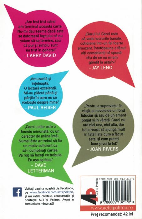 Cum sa ai succes in afaceri fara sa plangi - Carol Leifer [1]