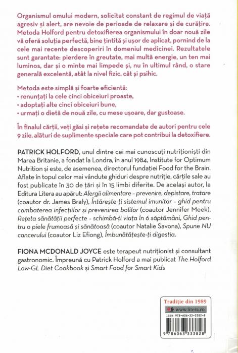 Detoxifierea ficatului in 9 zile - Patrick Holford, Fiona McDonald Joyce [1]