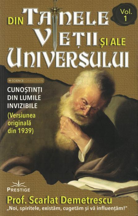 Din tainele vietii si ale universului, Set  3 vol. Versiune originala din 1939 - Scarlat Demetrescu [3]