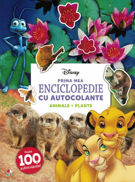 Prima mea enciclopedie cu autocolante. Animale, plante - Disney [0]