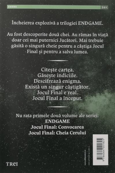 Endgame. Jocul final, regulile jocului - James Frey [1]