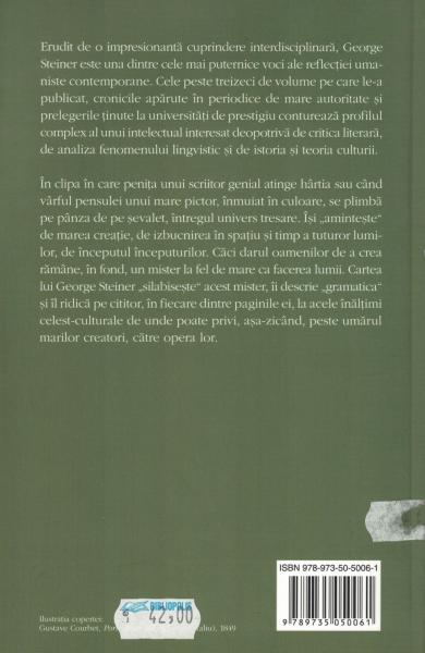 Gramaticile creatiei - George Steiner [1]