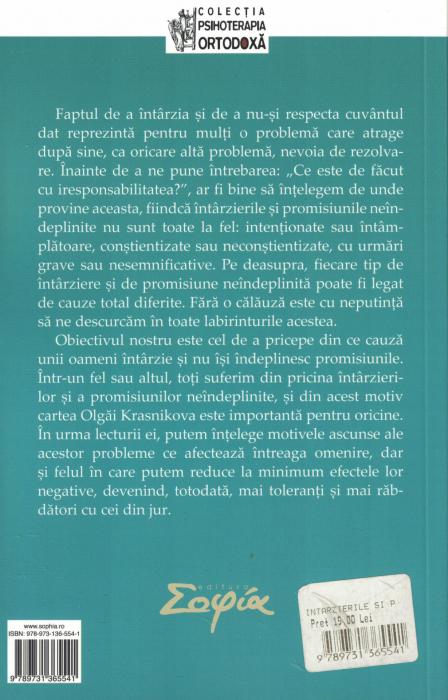 Intarzierile si promisiunile neindeplinite - Olga Krasnikova [1]