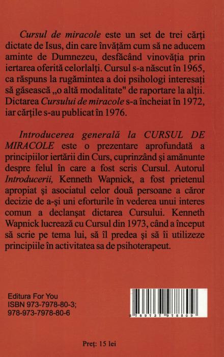 Introducere generala la CURSUL DE MIRACOLE - Kenneth Wapnick [1]