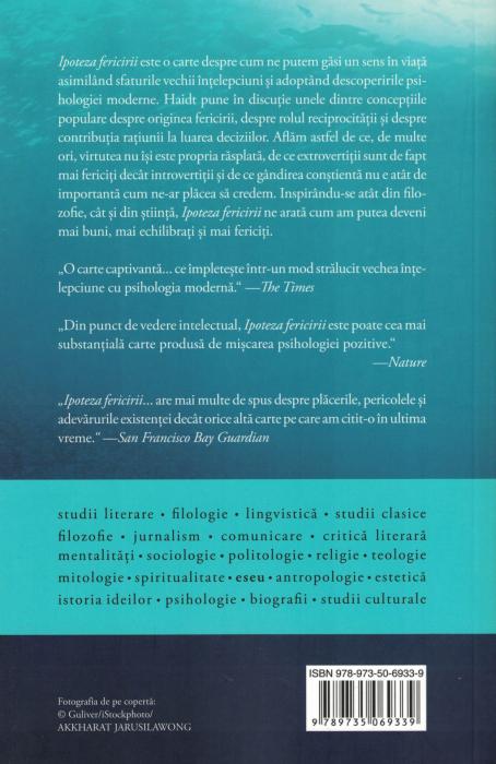 Ipoteza fericirii - Jonathan Haidt [1]