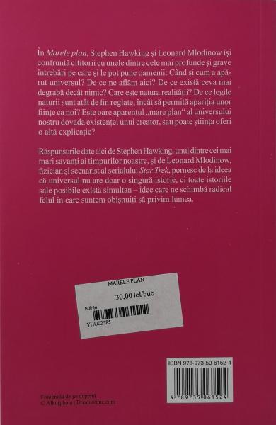 Marele plan - Stephen Hawking, Leonard Mlodinow [1]
