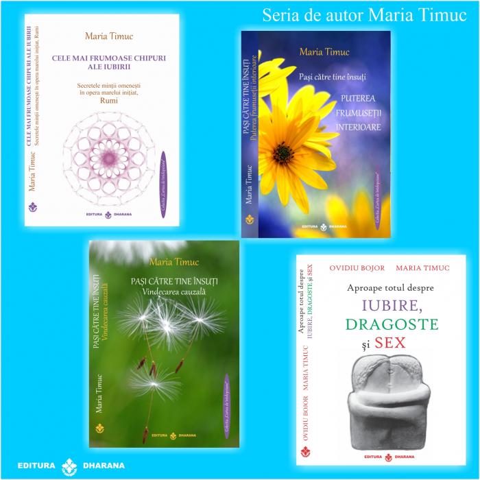 Maria Timuc - Pachet de autor (4 carti) - Maria Timuc [0]